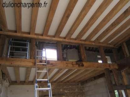 charpente bois couverture de toit planchers neuf. Black Bedroom Furniture Sets. Home Design Ideas